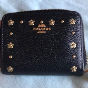 Small Coach Zipper Wallet